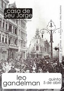 cartaz Leo Gandelman