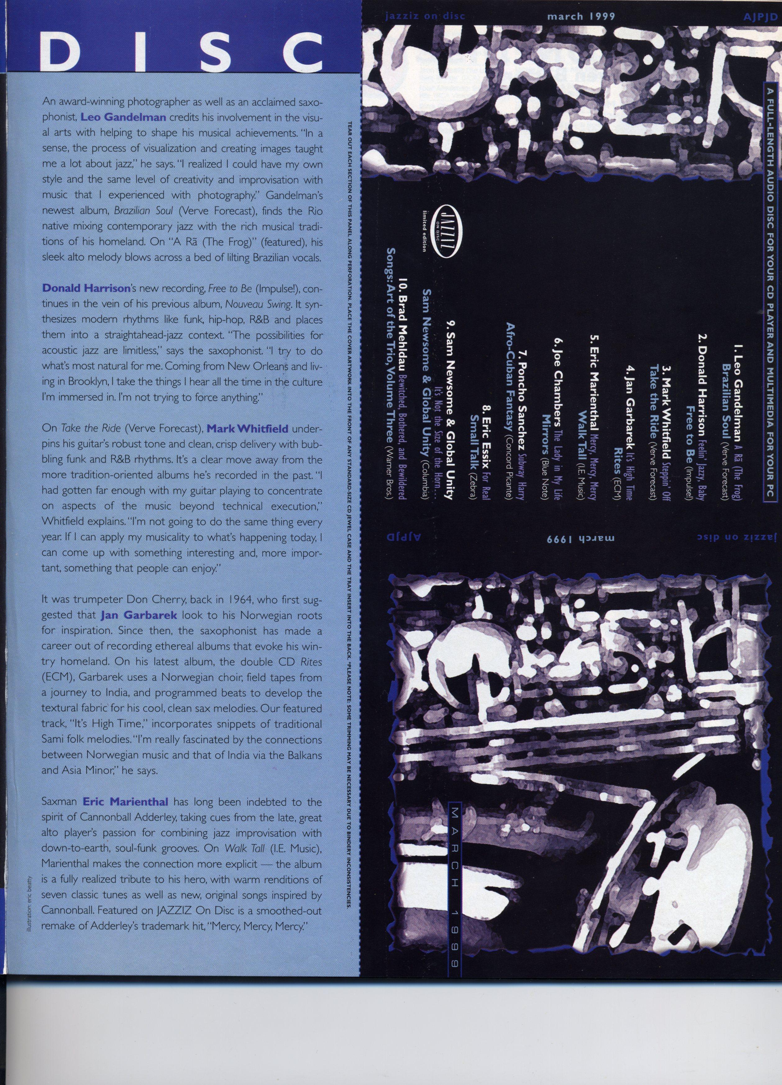 Revista Jazziz 2057