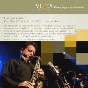 2015.06.26 e 27 - Leo Gandelman - Vizta