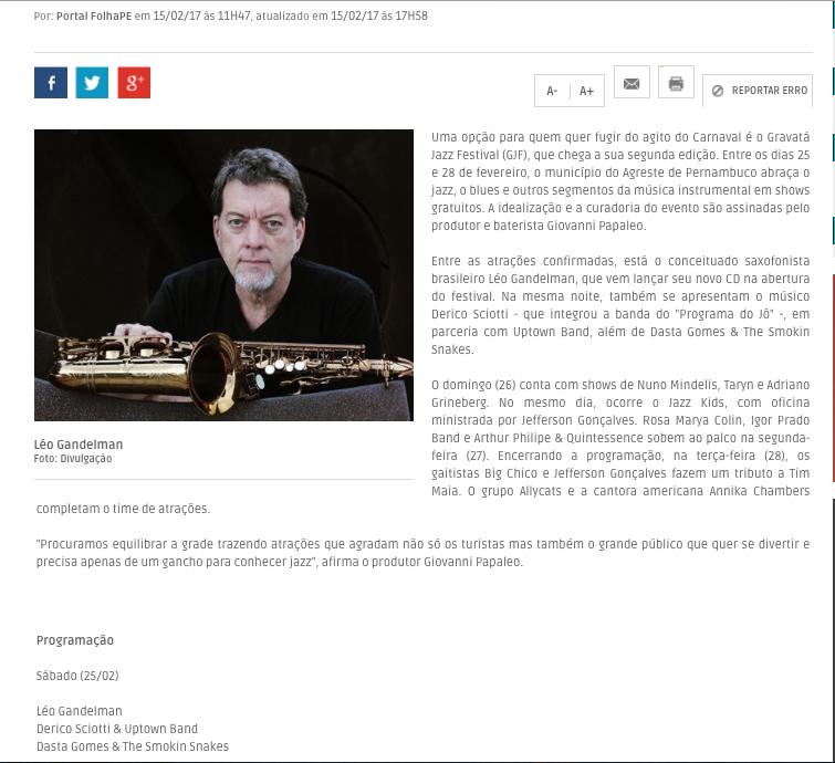 2017.02.15 Gravatá Jazz Festival 2