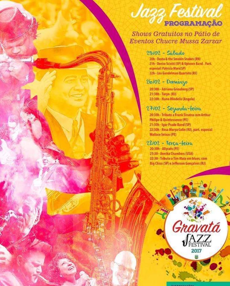 2017.02.25 Gravatá Jazz Festival